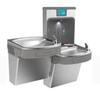Pure-water-connected-Drinking-Fountains