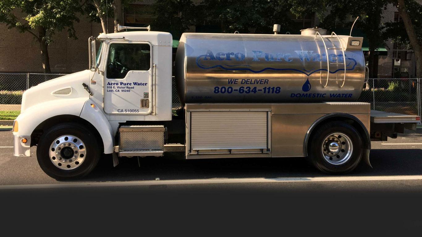 Aero Pure Water Truck